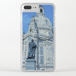 Dresden Cathedral Clear iPhone Case