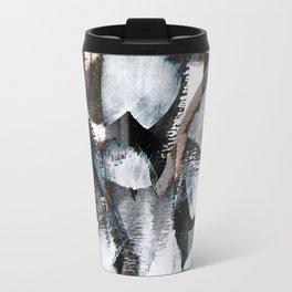 abstract brush painting Travel Mug