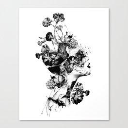 Broken BW Canvas Print