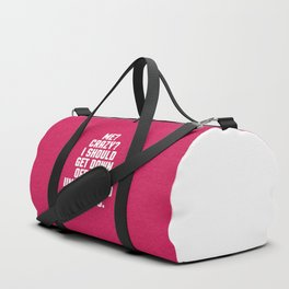 Down Off This Unicorn Funny Quote Duffle Bag