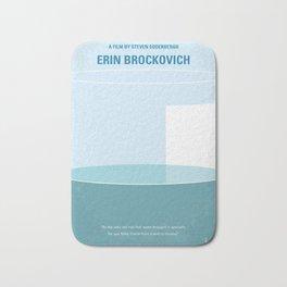 No769 My Erin Brockovich minimal movie poster Bath Mat