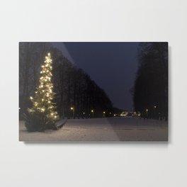 Christmas in Oslo Metal Print