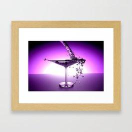 Martini Framed Art Print