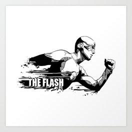 Fandom In Ink » The Flash Art Print