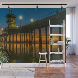 Root Beer Sunset Wall Mural
