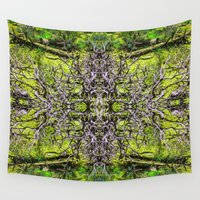 taurus Wall Tapestries featuring Taurus 2 by Kevin Kolstad