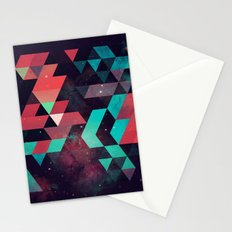 hyzzy fyt tyrq Stationery Cards