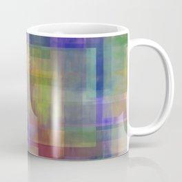 Modern Abstract No. 18 | Rainbow Connection Coffee Mug