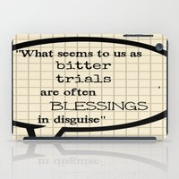 oscar wilde iPad Cases featuring Oscar Wilde Thought Quote by Allyson