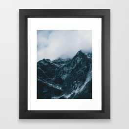 Cloud Mountain - Landscape Photography Framed Art Print