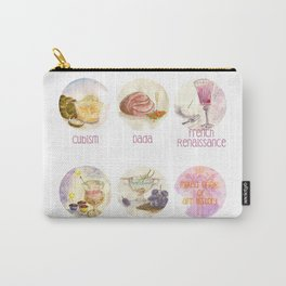Mixed Drinks: Art History Carry-All Pouch