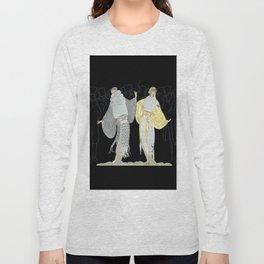"""Opening Night Fashion"" Art Deco Design Long Sleeve T-shirt"
