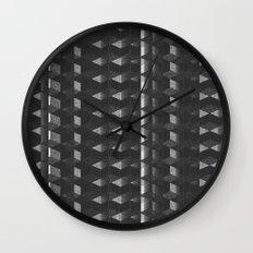 Burnt Out Noir Wall Clock