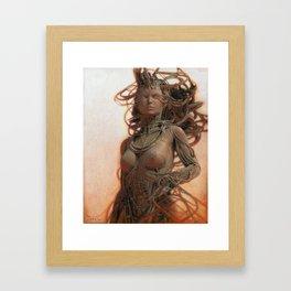 Gynoid IV Framed Art Print