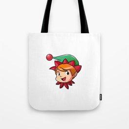 Christmas Elf North Pole elves Children Gift Tote Bag