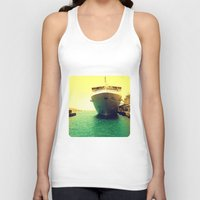 boat Tank Tops featuring Boat by chauloom