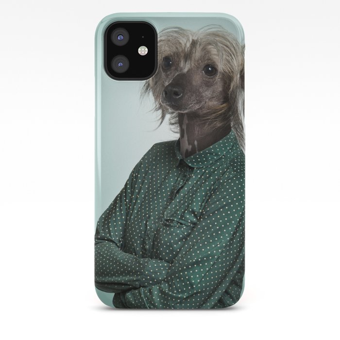 Chinese Crested Dog iphone 11 case
