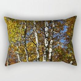 Yellow Quaking Aspen Rectangular Pillow
