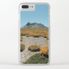 Peñalara Blooms Clear iPhone Case
