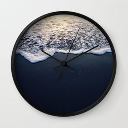 Darkness in the Light Wall Clock
