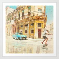 rio Art Prints featuring RIO by Nechifor Ionut
