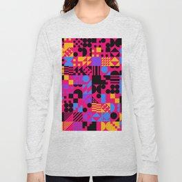 RAND PATTERNS #94: Procedural Art Long Sleeve T-shirt