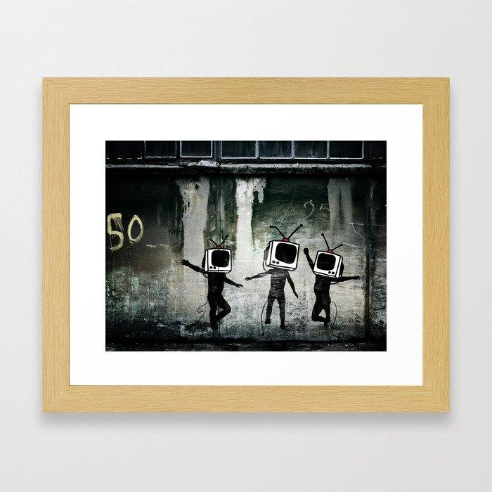 21st Century Digital Boys Framed Art Print