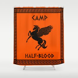 Camp Half-Blood Shower Curtain