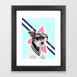 Keepin' it Casual Framed Art Print