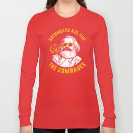 Saturdays Are For The Comrades Long Sleeve T-shirt