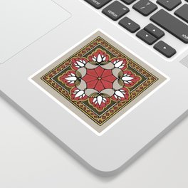 Arabesque Tile n°2 Sticker