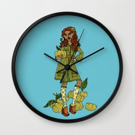 Ms Gooseberry Wall Clock