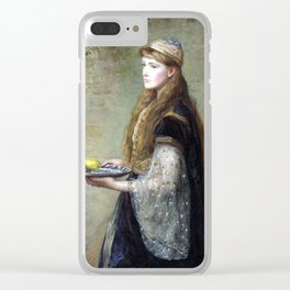 Sir John Everett Millais The Captive Clear iPhone Case
