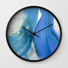 JP Was Here VII Wall Clock