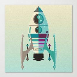 Rocket X Canvas Print