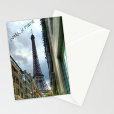 paris, je t'aime Stationery Cards