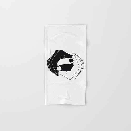 Yin and Yang Hand & Bath Towel