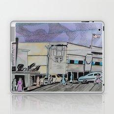 Jasper Avenue: Old Streets Grown Anew  Laptop & iPad Skin