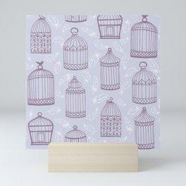 Birdcages Mini Art Print
