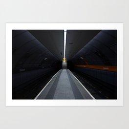Cessnock Subway, Glasgow Art Print