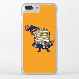 Da Pancakes Clear iPhone Case