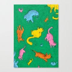 Charming Cats Canvas Print