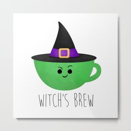Witch's Brew Metal Print