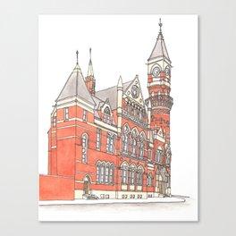 NYC Jefferson Market Library Canvas Print