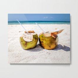 Coconut Rum Metal Print