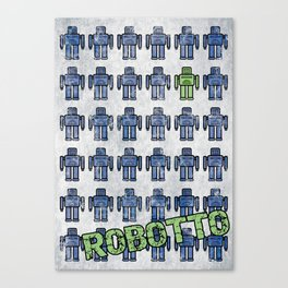 Robotto! Canvas Print