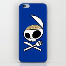 Zombie nation meal time iPhone & iPod Skin