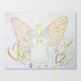 Angel of Hearts Canvas Print