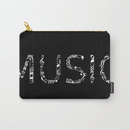 Music typo - inverted Carry-All Pouch