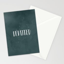 Devoted Themselves Stationery Cards
